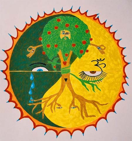 Tree of Life Mandala Art Work