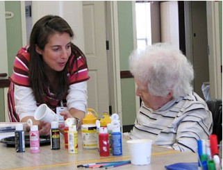 Jewish Art Therapy Group Helps Seniors With Self Expression