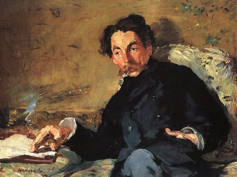 Portrait of Stephane Mallarme by Manet