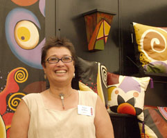 Anna Millea (artist fighting breast cancer)