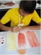 teen painting