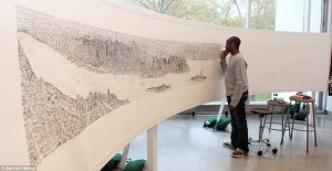 Stephen Wiltshire Draws New York