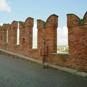 Liu Bolin - Ponte di Castelvecchio Castelvecchios Bridge