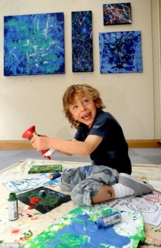 Terminally Ill Child Creates Art, Inspires Others