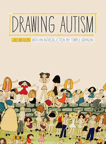 """Drawing Autism"" book cover"