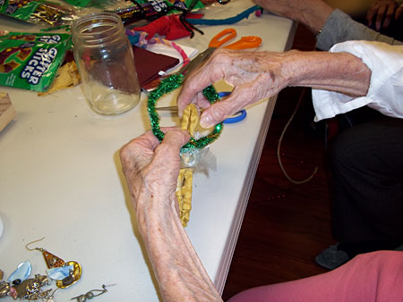 Example of Arts Activities Helping Seniors With Alzheimer's and Dementia Remember