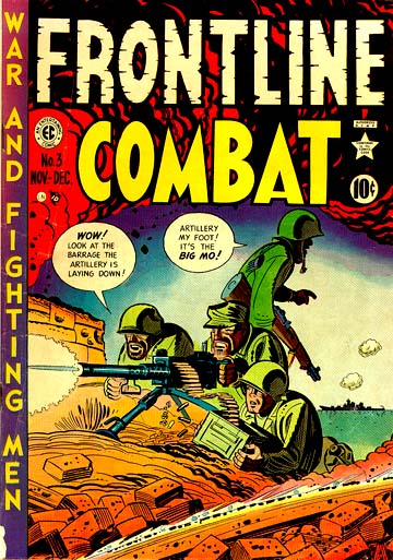 frontline combat comic book cover