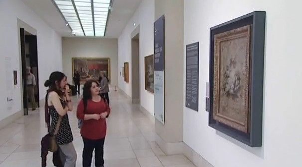 looking at art may help depression