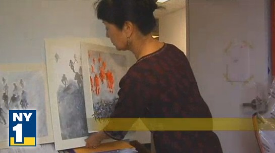 Art Therapy Helps 9/11 Sufferers Years Later, Exhibits Art Work on 10th Anniversary