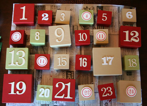 Advent(ure) Calendars – An Expressive Arts Activity for the New Year