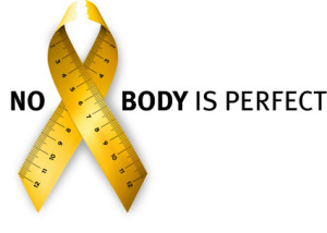 eating disorder awareness - no body is perfect