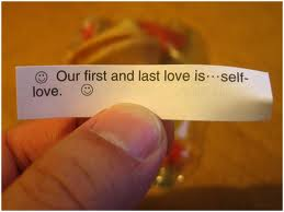 self-love fortune cookie