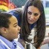 Kate Middleton visits Art Therapy room