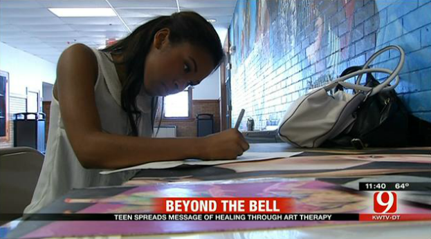 Teenager Loses Best Friend, Draws on Experience to Spread Support for Art Therapy