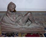 Edith Kramer Bronze Sculpture