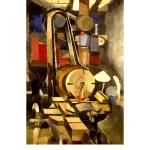 Edith Kramer Painting Industrial - 1