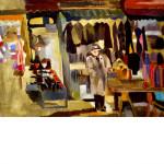 Edith Kramer Painting Orchard Street