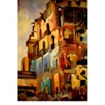 Edith Kramer Painting - Exposed Interior