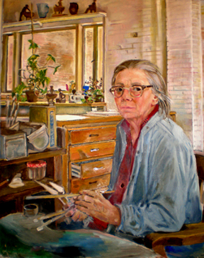 Edith Kramer Self Portrait