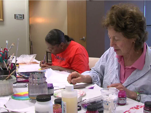 Cancer Patients & Survivors Improve Thanks to Art as Therapy Program