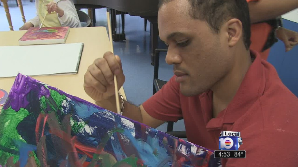 art therapy helps people with disabilities